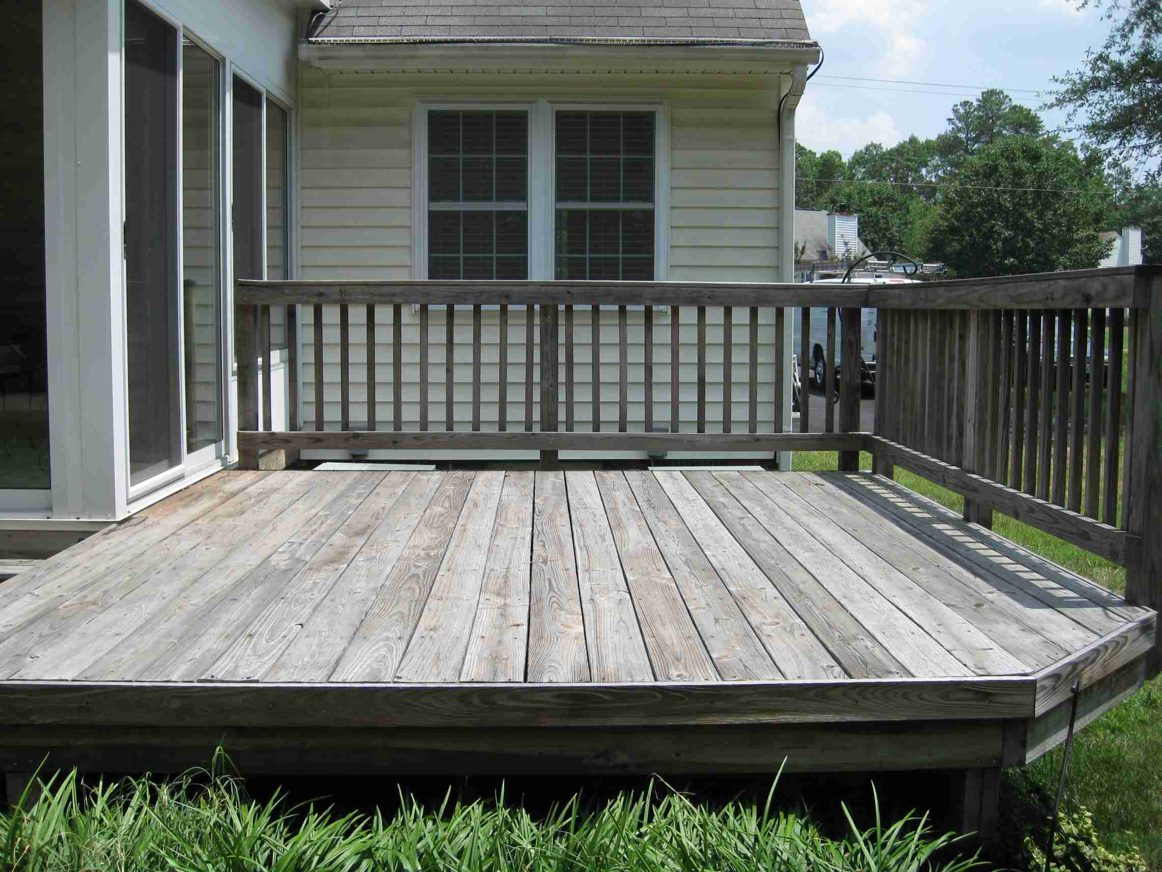 Deck 2 Before